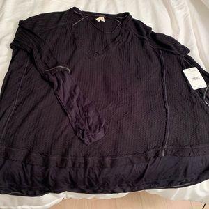 Free People laguna thermal knit top